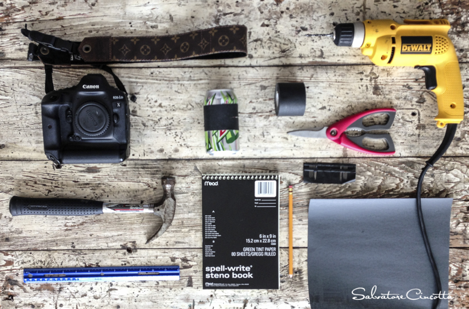 How to convert your dslr to a pinhole camera