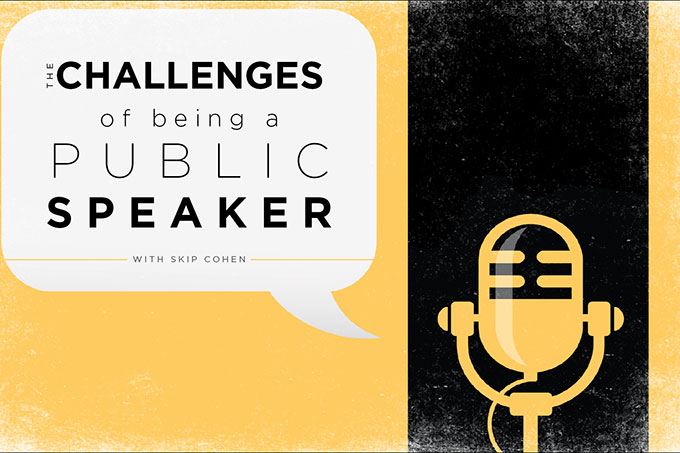 the challenges of public speaking