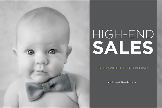 photography high end sales