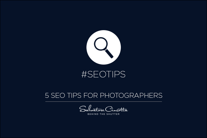 5 tips to better SEO for photographers