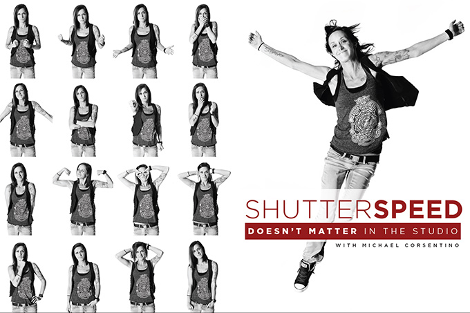 Shutter Speed Doesn't Matter in the Studio