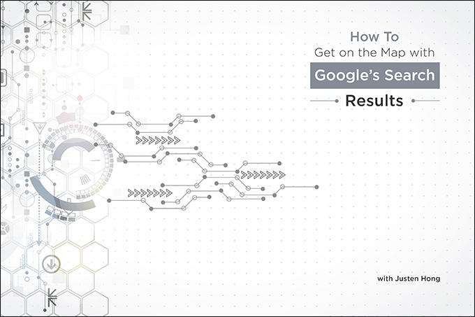 how to get on the map with googles search results
