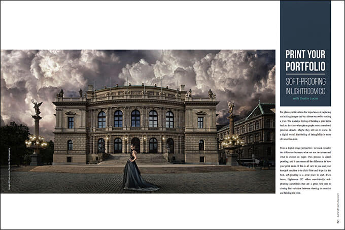 Print your Portfolio: Soft Proofing in Lightroom CC with Dustin Lucas