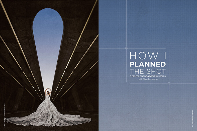 How I Planned the Shot: 5 Tips for Finding & Booking Models  with Alissa Zimmerman
