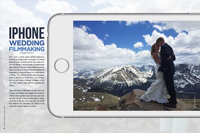 iPhone Wedding Filmmaking with Joe Switzer
