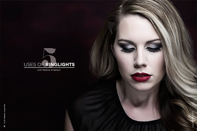 5 Uses of Ringlights with Melanie Anderson