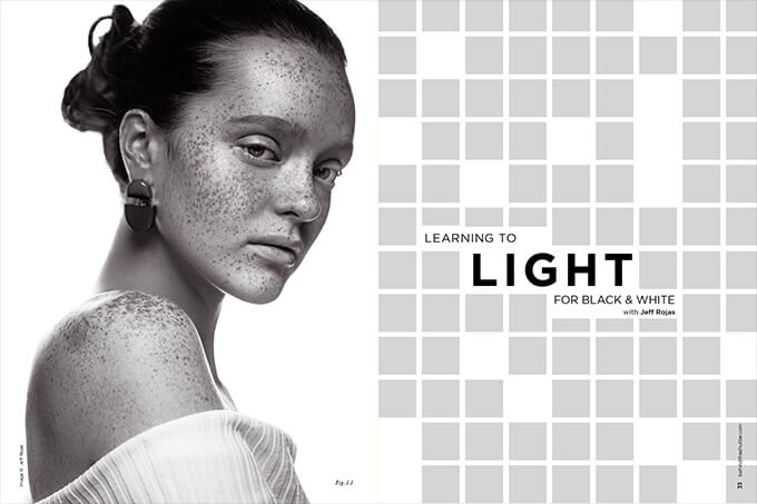 Learning to Light for Black & White with Jeff Rojas