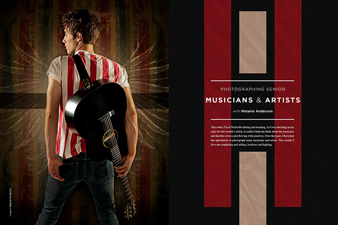 Photographing Senior Musicians and Artists with Melanie Anderson