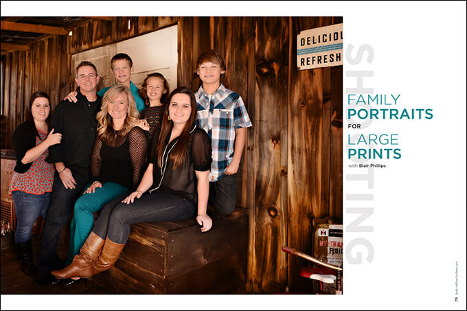 Shooting Family Portraits for Large Prints with Blair Phillips