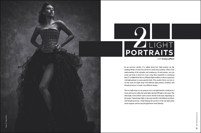 Two-Light Portraits with Craig LaMere