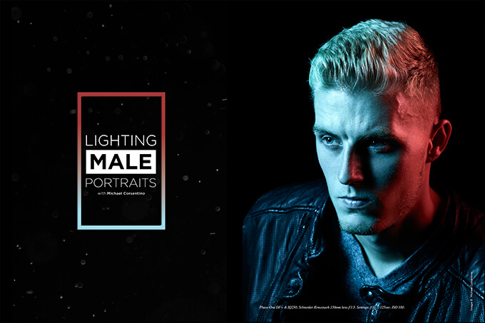 Lighting Male Portraits with Michael Corsentino