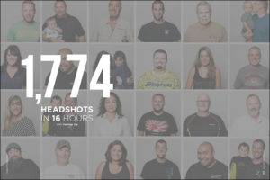 1,774 Headshots in 16 Hours with Vanessa Joy