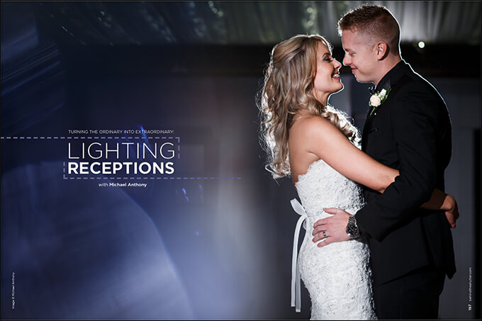 Turning the Ordinary Into Extraordinary: Lighting Receptions with Michael Anthony
