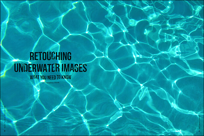 Retouching Underwater Images: What You Need to Know with Kristina Sherk