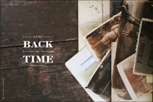 A Step Back in Time with Melanie Anderson