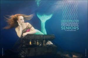Underwater Portrait Photography for High School Seniors