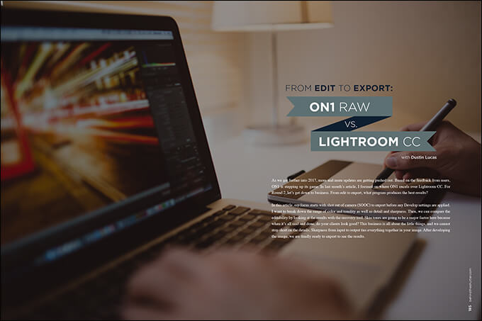 From Edit to Export: On1 RAW or Lightroom?