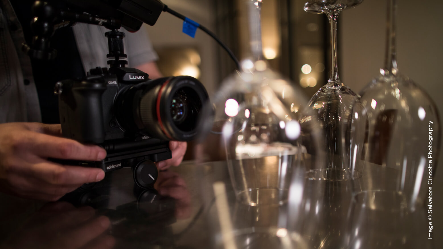 Delmonico Steakhouse Las Vegas: A Commercial Shoot with Sal Cincotta