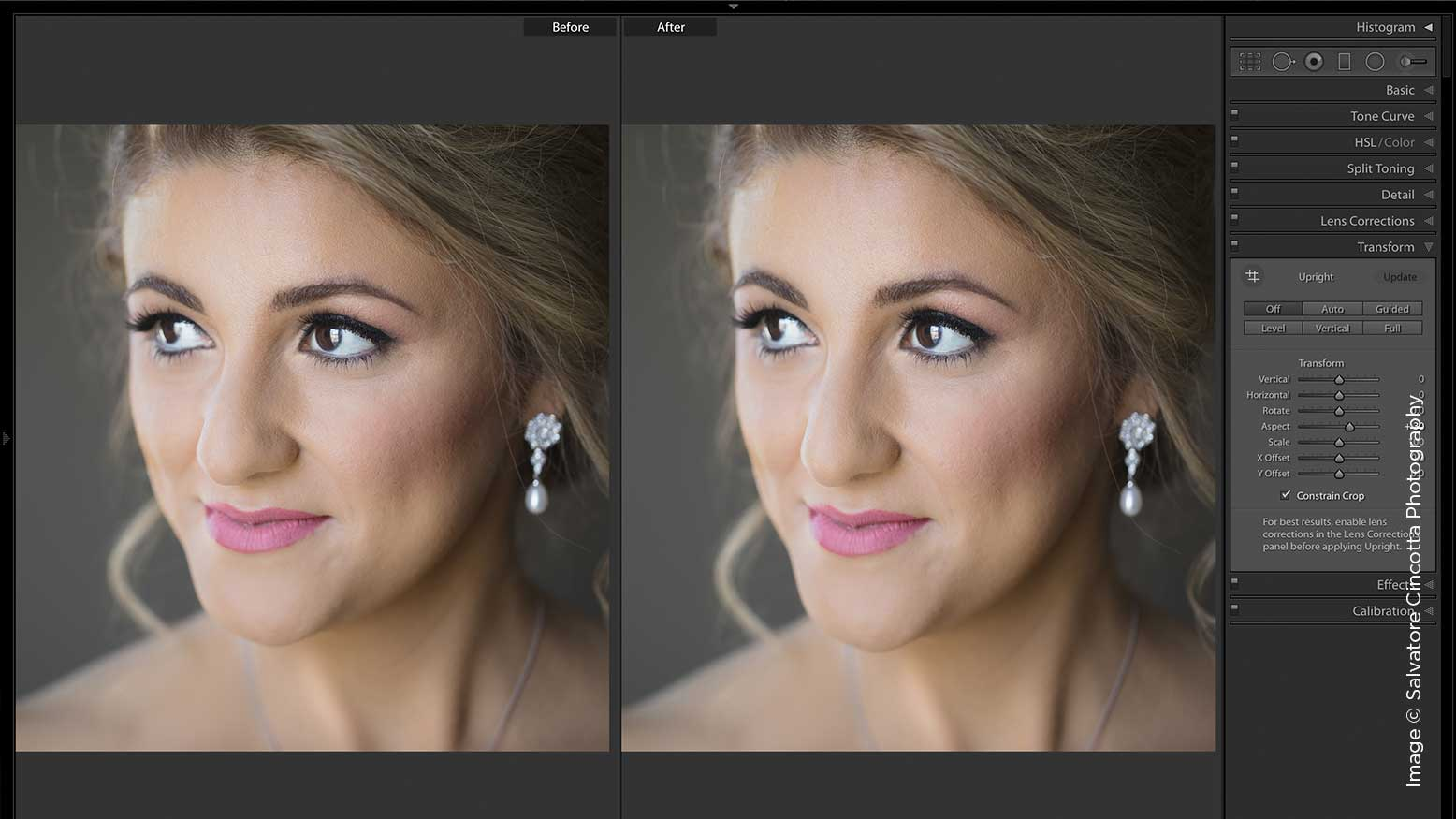 Beautify Your Brides Using Brushes in Lightroom Classic