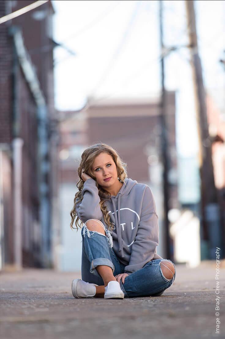 Shutter Magazine Inspirations | Best Senior Portraits | Image by Brady Crew Photography