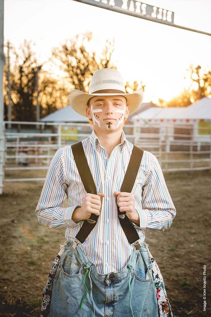 Shutter Magazine Inspirations | Best Senior Portraits | Image by Kim Kravitz Photo