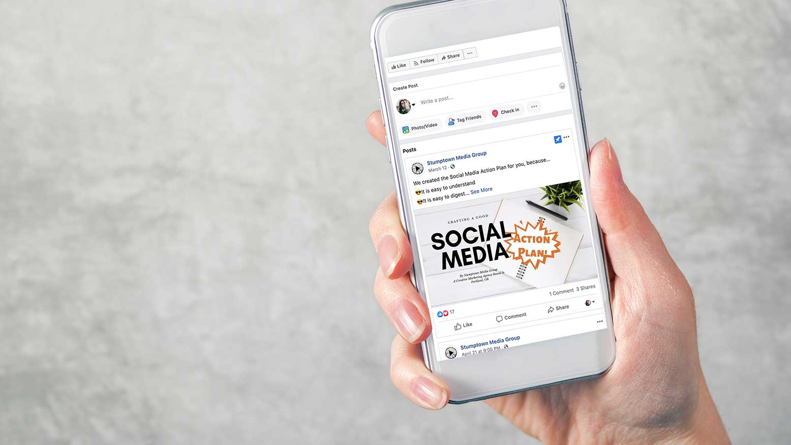 Social Media Strategy Pyramid
