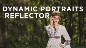 Creating Dynamic Portraits With A Reflector