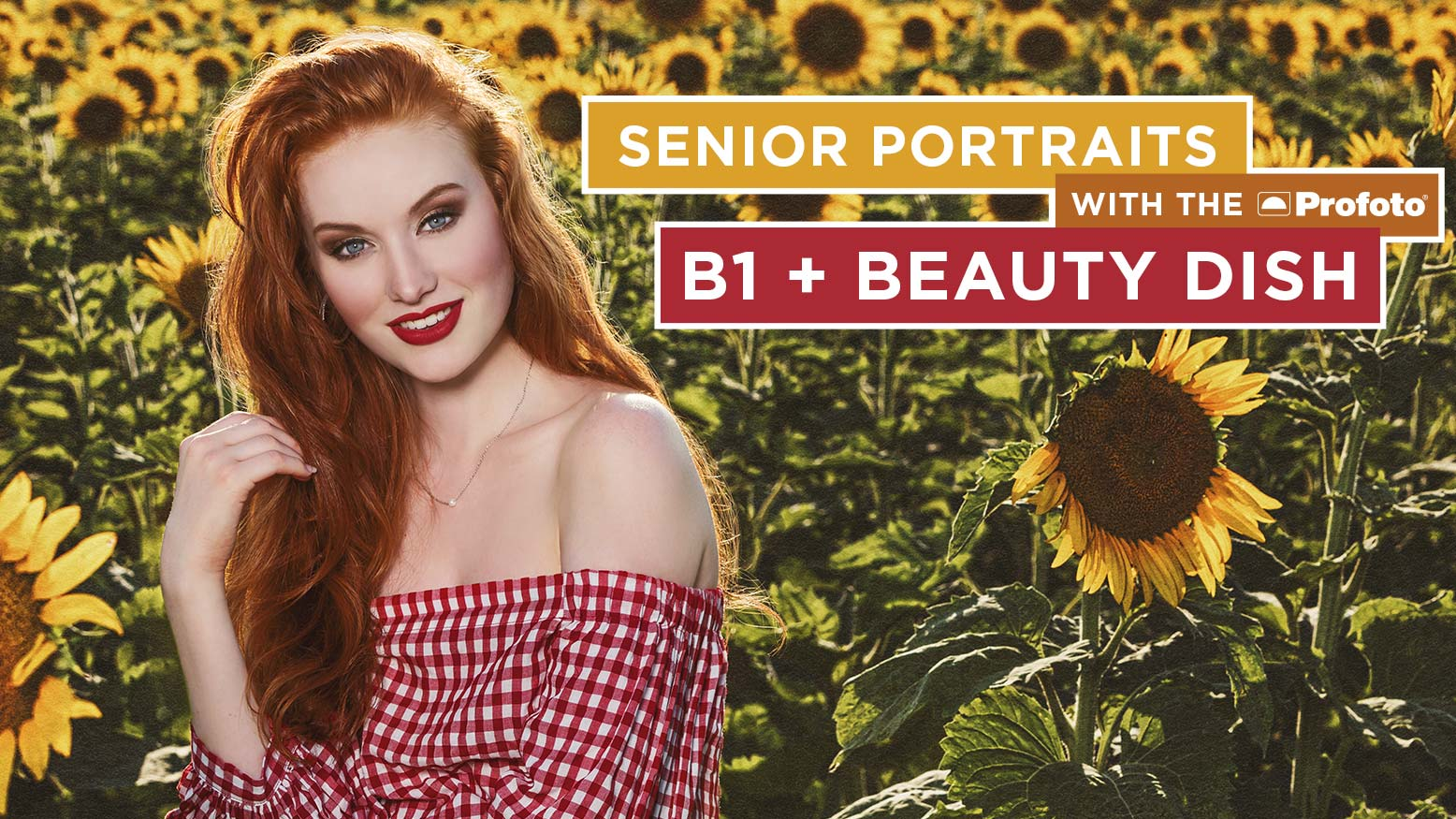 Senior Portraits With the Profoto B1 + Beauty Dish