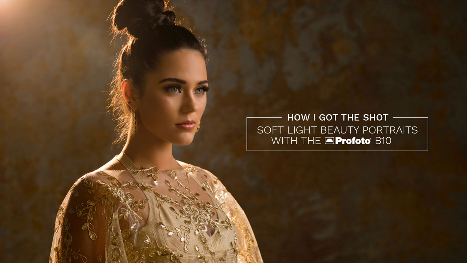 How I Got The Shot: Soft Light Beauty Portraits With The Profoto B10