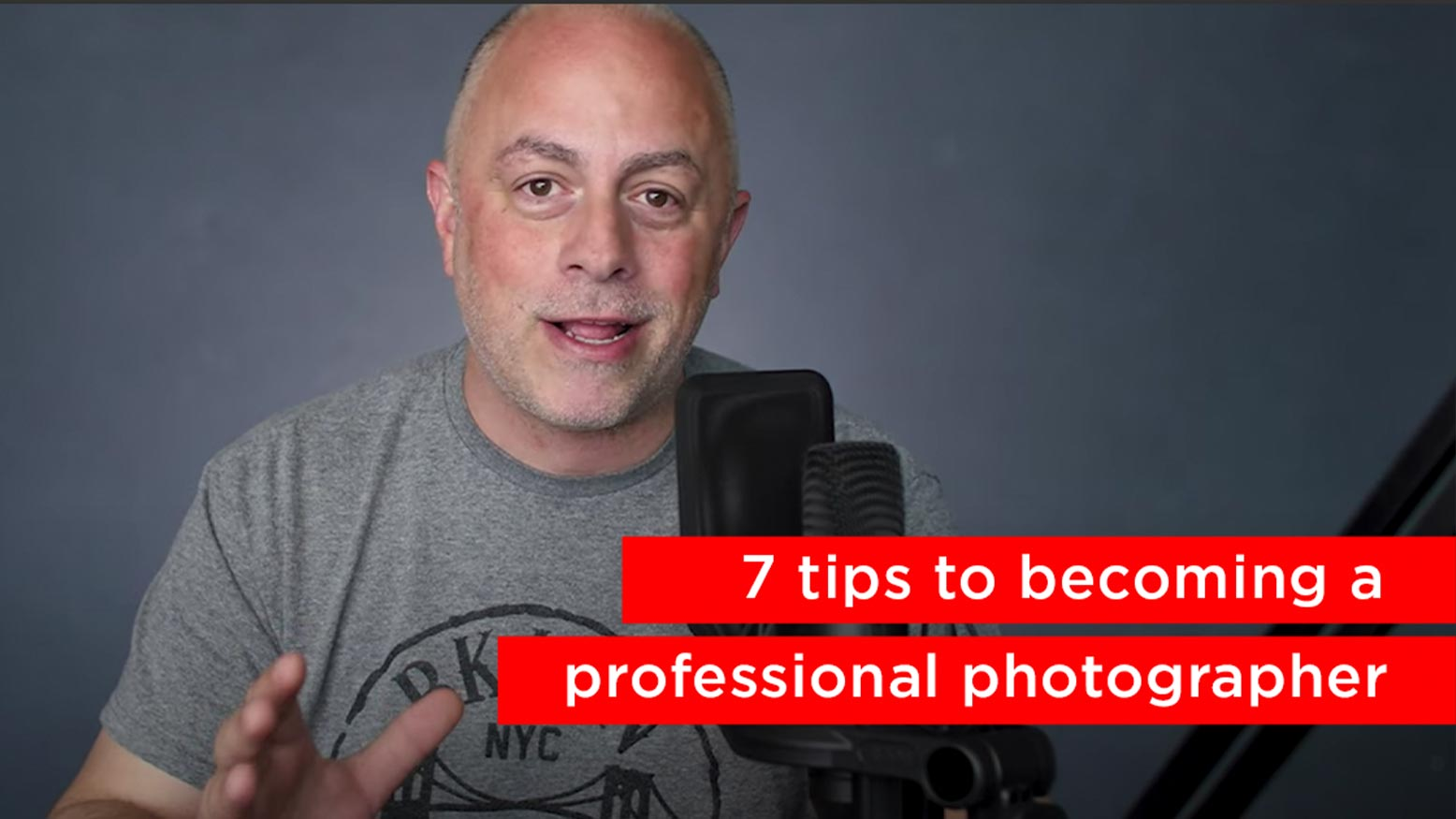 7 Tips to Becoming A Professional Photographer