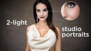 2-Light Studio Portraits with the Profoto B10 Plus