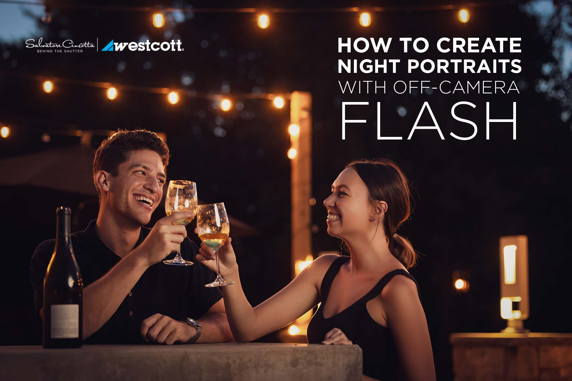 How to Create Night Portraits with Off-Camera Flash