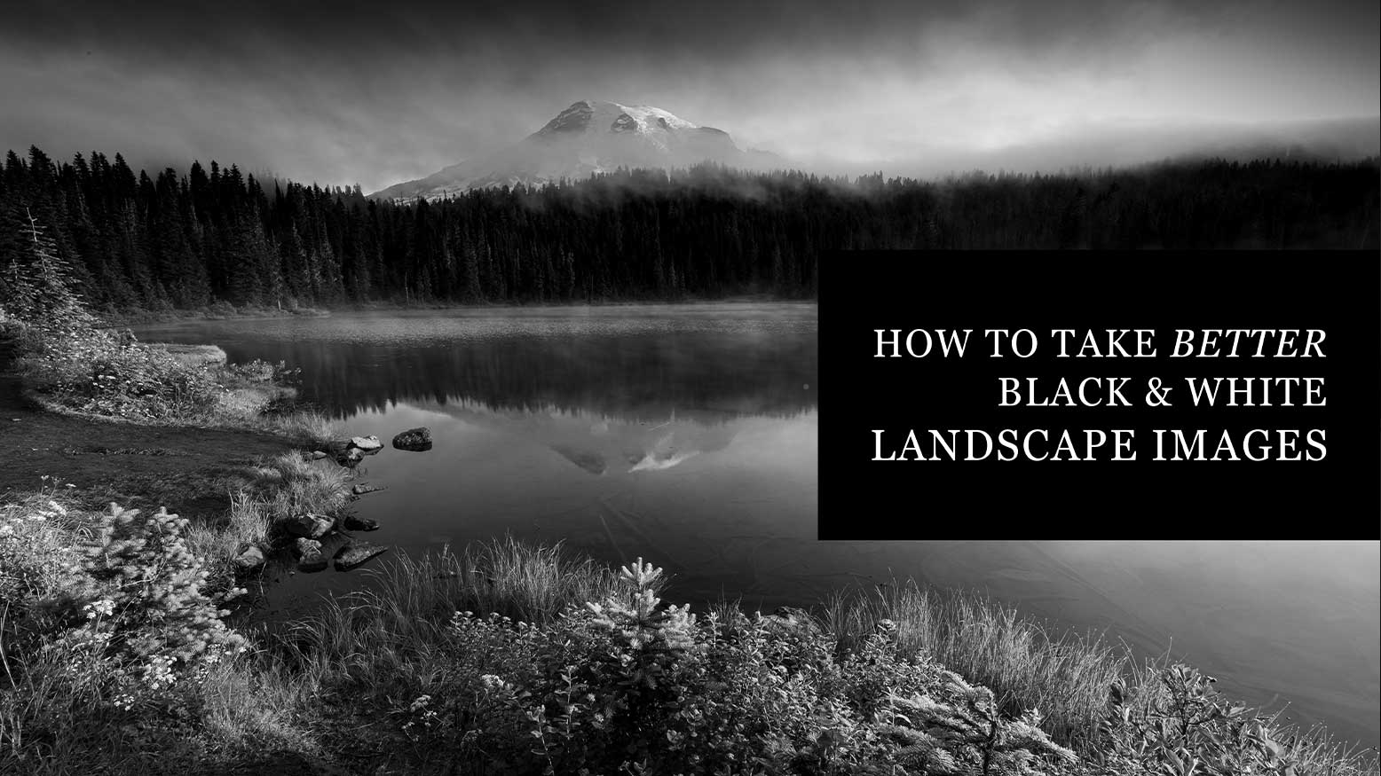 Black & White Landscape Images